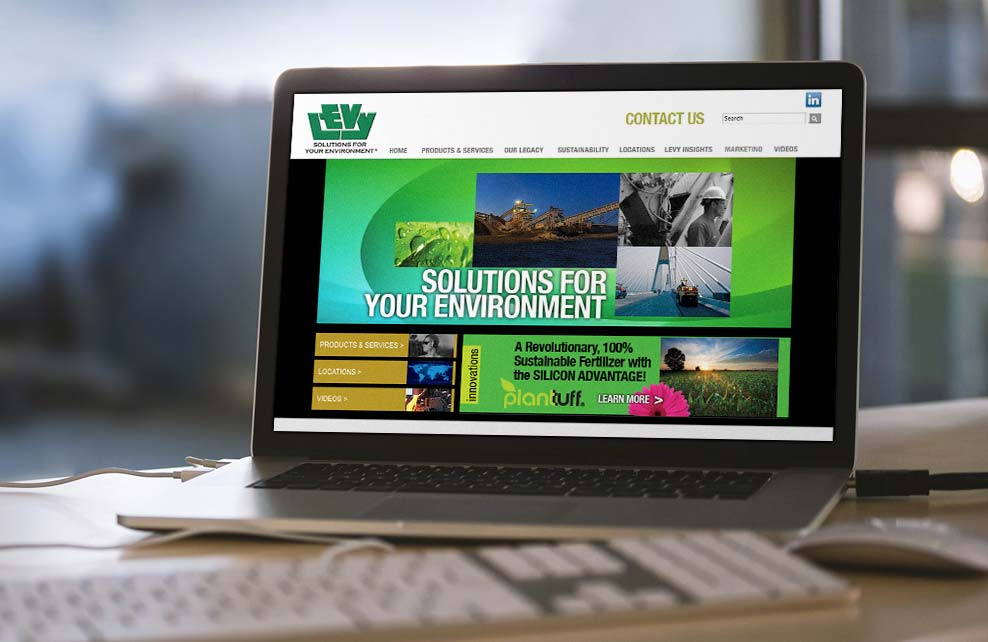 Edw. C. Levy Corporate Website
