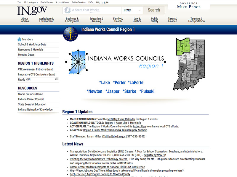 Indiana Works Council NWI